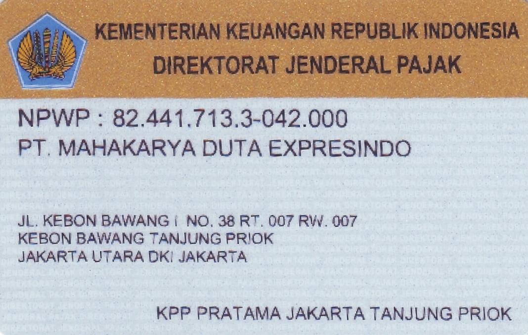NPWP Perusahaan